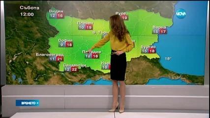 Прогноза за времето (17.10.2015 - сутрешна)