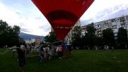 Да полетиш за малко с балон Бнр Radio Park Fest 2019