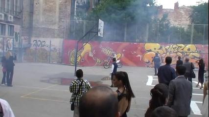 24.05.2013 на Абитуриентски бал с кросов мотор