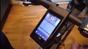 Умно колело с Android и лазерни светлини