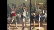 Laura Daganzo&nya; de la Rubia- Bailando Flamenco