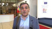 Belgium: Greek FM confirms €10.3bn bailout package