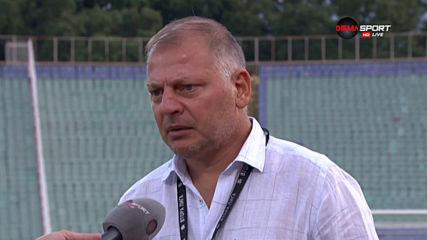 Петко Петков: Има още много накъде да се развиваме, селекцията е отворена