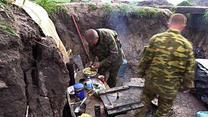 Ukraine: Russian TV crew comes under fire near Donetsk