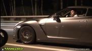 Nissan Gt-r 35 срещу Corvette
