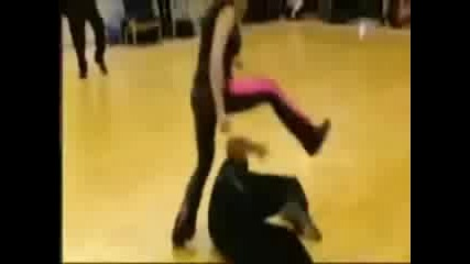 Trish Competes In Glima Wrestling Match