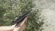 """Пистолет """" Стечкин """" в екшън действие !"""