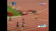 Usain Bolt - Постави Световен Рекорд 200