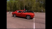 Dodge Challenger Srt8 vs Mercedes Cl65 Amg Evotec