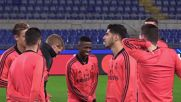 Italy: Roma and Real Madrid hold final trainings before Champions League clash