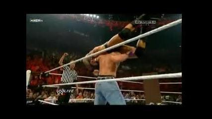 Wwe Raw 13.09.2010 Randy Orton vs John Cena tables mach