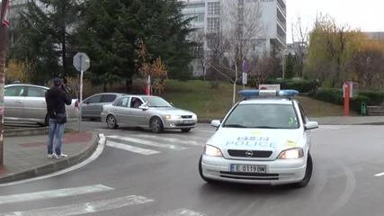 Протест срещу цените на винетките в Благоевград