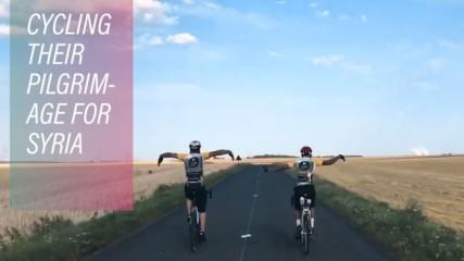 The British lads cycling the Hajj