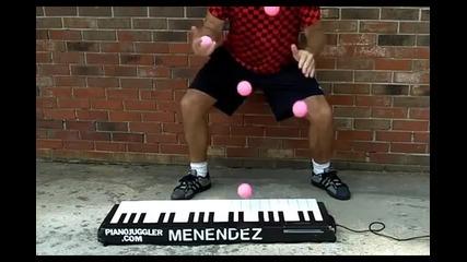 Страхотно свирене на пиано