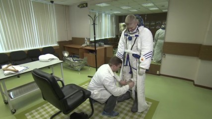 Russia: New Russian space suit can withstand temperatures of -55 Celsius