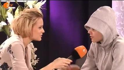 Интервю на Justin Bieber за Wetten Dass - 19.03.2011