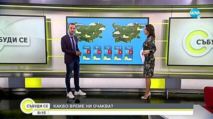 Прогноза за времето (22.11.2020 - сутрешна)