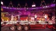 Цялото изпълнение на One Direction на Олимпийските игри - What Makes You Beautiful