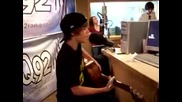 Justin Bieber performs One Time