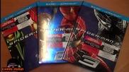 Величествената филмова трилогия Спайдър - Мен (2002-2004-2007) на Blu - Ray