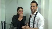 Dancing Stars - Елена и Дидо благодарят за подкрепата (10.04.2014г.)