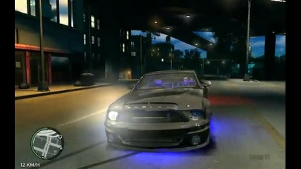 Grand Theft Auto Iv - Ford Shelby Gt500