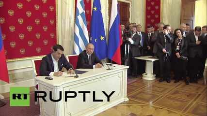Russia: Greece has not asked Moscow for financial aid - Putin