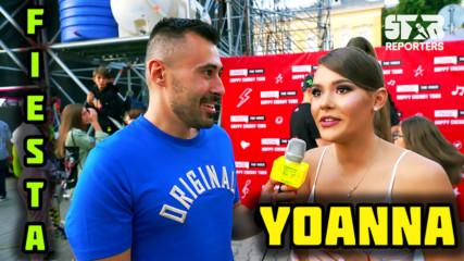 Yoanna: Танцувах 8 години спортни танци!