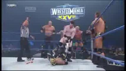 Edge Mysterio Morrison R-truth Orton Cena vs Cm Punk Shemus Mcintyre Kane Ziggler Barrett