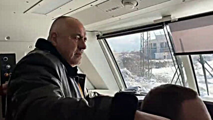Бойко Борисов и Росен Желязков инспектира нови мотриси на БДЖ