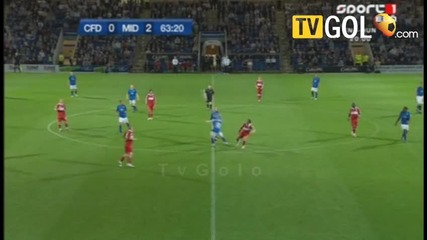 10 - 08 - 2010 - Chesterfield 1 - 2 Middlesbrough (carling Cup) Highlights - England - Barclays Prem