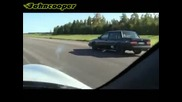Volvo 740 turbo vs Porsche 996 Turbo