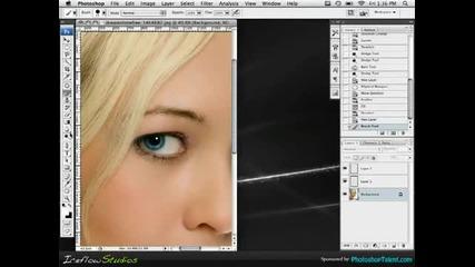 Начин да смениш очи на човек с Photoshop
