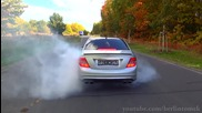 Бърнаулт с Mercedes C63 Amg !