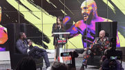 USA: 'Tyson has a pillow as a fist' - Boxers Fury and Wilder face off in LA