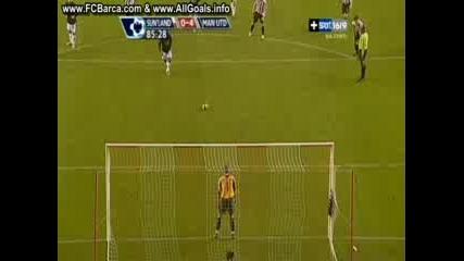 Съндърланд 0 - 4 Манчестър Юнайтед (Саха)