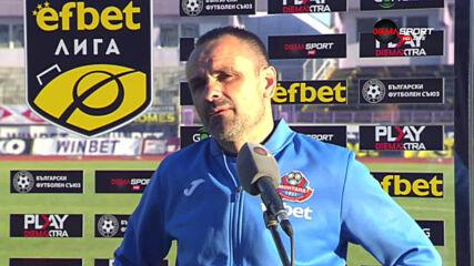 Светлан Кондев: Този мач беше борба и показахме характер