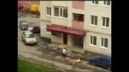 Гол Руснак Троши Автомобили!