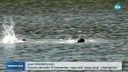 БЛАГОТВОРИТЕЛНОСТ: Русенец плува 10 км с една ръка (ВИДЕО)