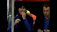 Вижте какво хапна Йоаким Льов по време на мача с Англия