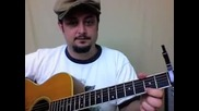 Boulevard of Broken Dreams - Уроци по китара - Лесни песни за начинаещи
