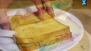 "Парти лакомства - Сандвич на скара ""Дъга"""