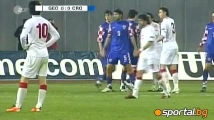 Грузия - Хърватия 1 - 0