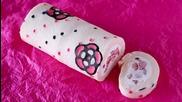 How to Make Kawaii Deco Roll Cake (cute Decorated Swiss Roll)
