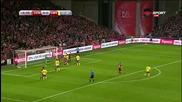 Дания - Швеция 0:1 /първо полувреме/