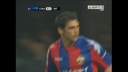 highlights : Cska - Inter 0:1