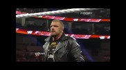 Wwe Raw 18.3.2013 Brock Lesnar And Triple H Contract Signing