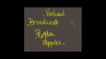 Voxhaul Broadcast - Rotten Apples