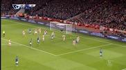 Арсенал 2:1 Лестър 10.02.2015