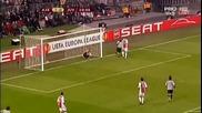 Лига Европа 1/16 - финал Аякс - Ювентус 1:2